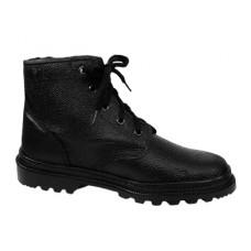 Ботинки рабочие кожаные на искусственном меху