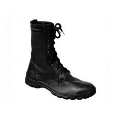 Ботинки с высокими берцами облегченные кожаные на цигейке