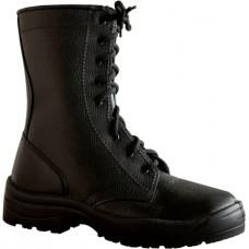 Ботинки с высокими берцами кожаные